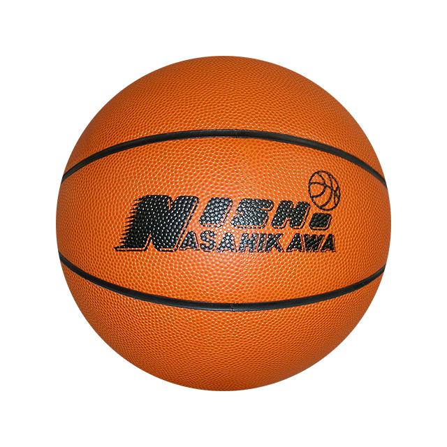 旭川西高男子バスケット部ボール